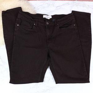 H&M Brown Skinny Jeans 10